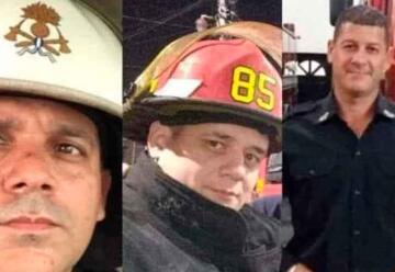 El Sistema Nacional de Bomberos Voluntarios de luto por el fallecimiento de tres bomberos