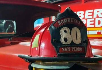 Bomberos Voluntarios de San Pedro cumplen 62 años