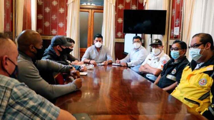 Bomberos Voluntarios de Xela recibirán ayuda del Ejército de EE.UU.