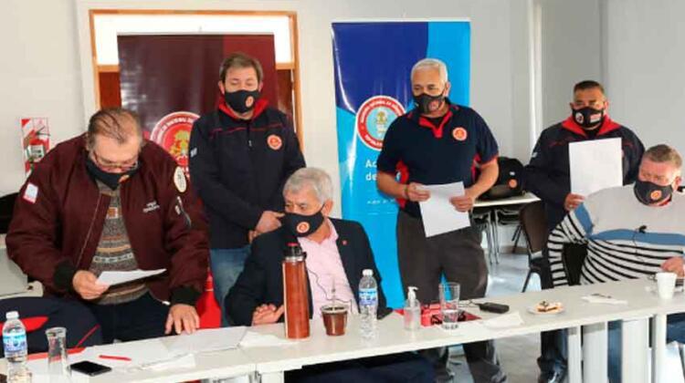 Avances en el Centro Nacional de Entrenamiento para Bomberos Voluntarios