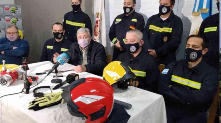 Bomberos adquirió equipamiento por 5 millones de pesos