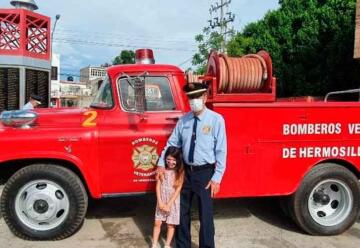 Celebran 75 años el Departamento de Bomberos de Hermosillo