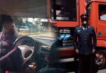 Bombero Voluntario y Taxista: El chofer más querido de la ciudad