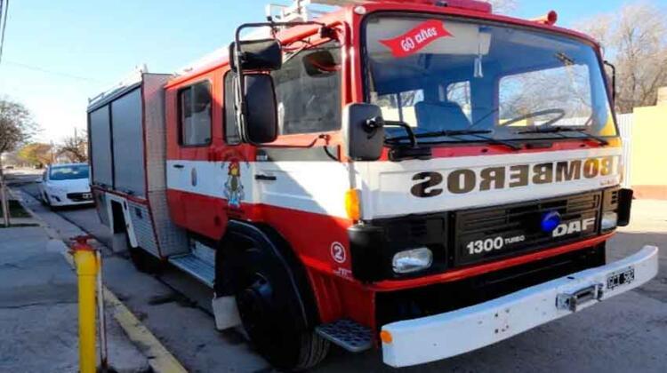 VENTA: Autobomba DAF 1300 modelo 1987