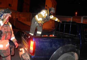 Muere bombero voluntaria mientras combatía incendio