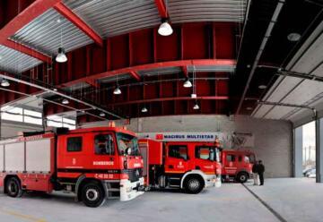 La Diputación proyecta disponer de dos parques provinciales de bomberos