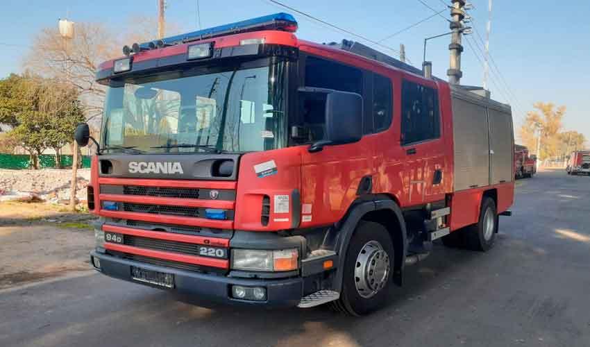 Nueva autobomba para Bomberos Voluntarios de Chabás
