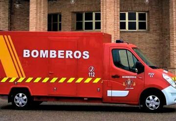 Bomberos de Toledo adquieren un furgón eléctrico