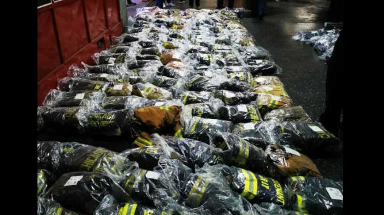 Bomberos Voluntarios de La Matanza recibieron equipamiento desde EE.UU