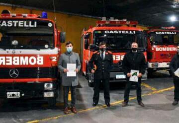Un nuevo cuartel de Bomberos para Castelli