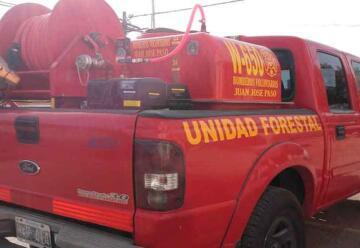 Bomberos Voluntarios de Juan José Paso con nuevo móvil
