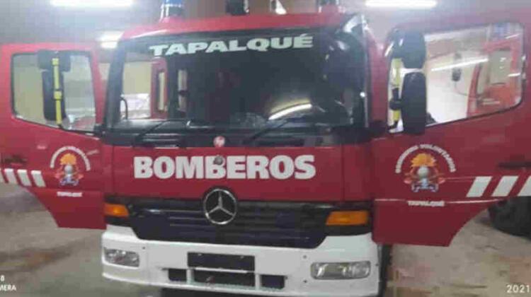 Bomberos Voluntarios de Tapalqué acaba de adquirir un nuevo autobomba