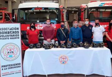 Bomberos de Madryn adquirieron nuevo equipamiento