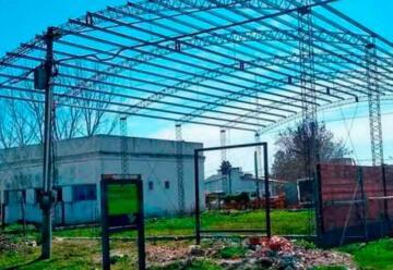 Comenzó la construcción del cuartel de Bomberos de Pueblo Belgrano