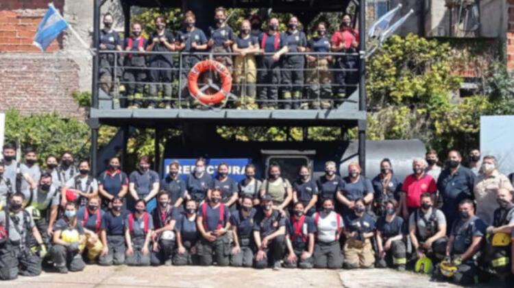 Entrenamiento: Capacitación Incendios en Buques
