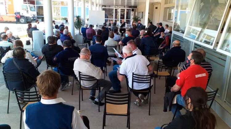 La Federación Santafesina de Bomberos Voluntarios eligió sus nuevas autoridades