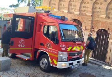 Nuevo vehículo de bomberos de Toledo para el Casco