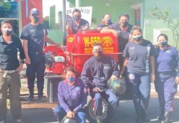 Crece el malestar de bomberos de Fray Mamerto Esquiú