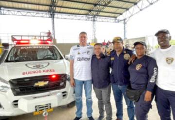 Buenos Aires cuenta con nuevo vehículo para Cuerpo de Bomberos