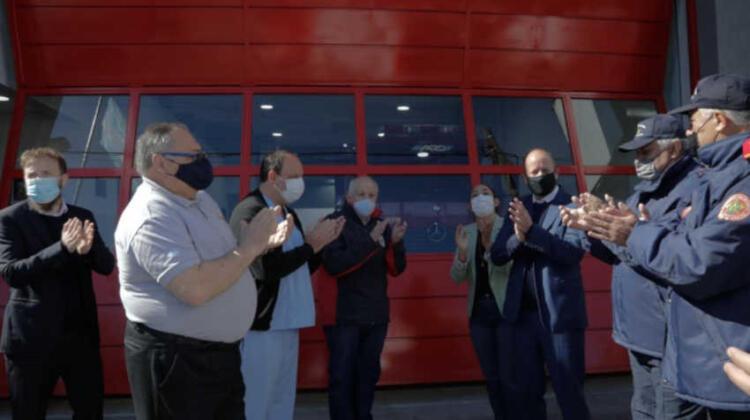 Inauguraron la nueva sede del Destacamento de Bomberos de San José