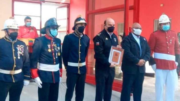 Segunda Compañía de Bomberos de Pinto inaugura nuevo y moderno cuartel
