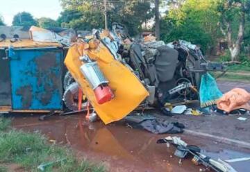 Bombera Voluntaria muere en accidente en Quiindy