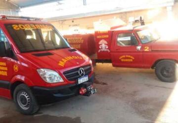 Un bombero le salvó la vida a un bebé que se estaba ahogando