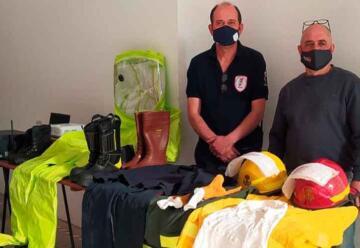 Bomberos Voluntarios de Esperanza presentó nuevos equipos