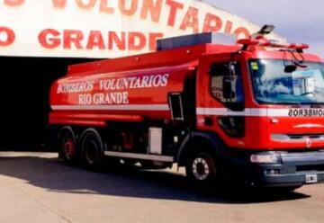 Nueva unidad para Bomberos Voluntarios de Rio Grande