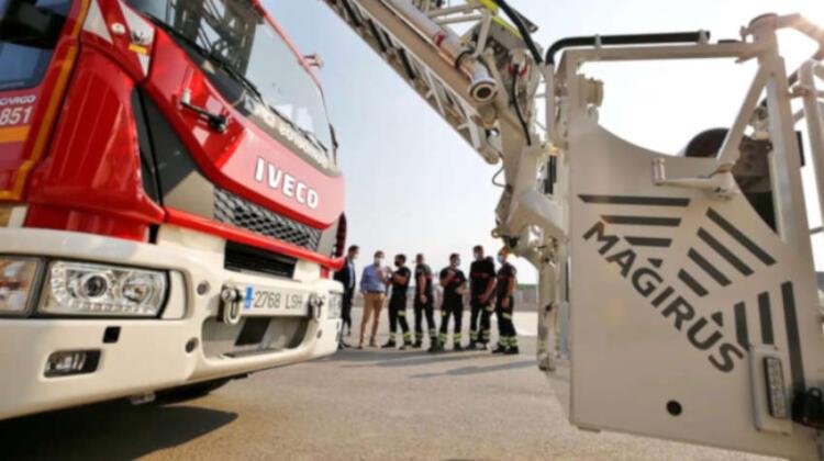 Nueva auto escalera para Bomberos de Torrevieja