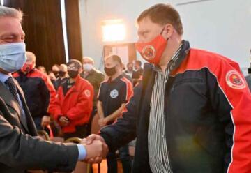 El Gobierno pagará en cuotas la deuda de 7 millones con bomberos