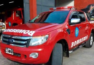 Bomberos Voluntario de San Clemente del Tuyú con nueva unidad