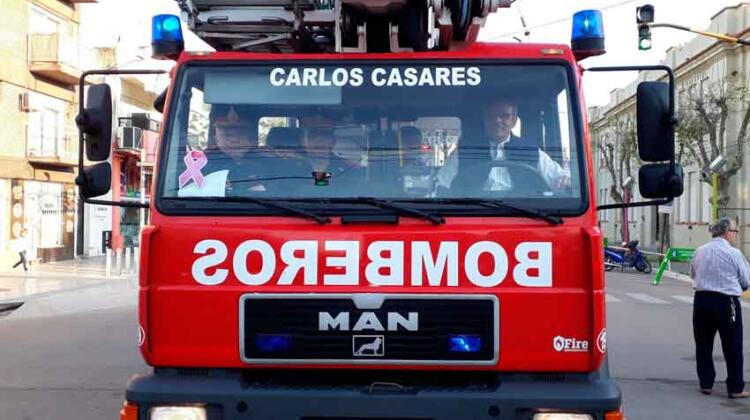 Nuevo equipamiento para los Bomberos Voluntarios de Carlos Casares