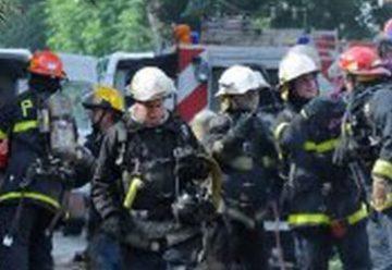 Son nueve bomberos muertos y ocho heridos graves